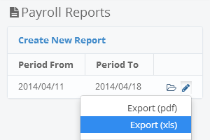How do you generate a payroll report?