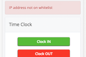 IP Address Whitelist